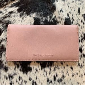 Blush Vegan Leather Wallet